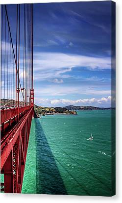 Across The Golden Gate Bridge San Francisco Canvas Print