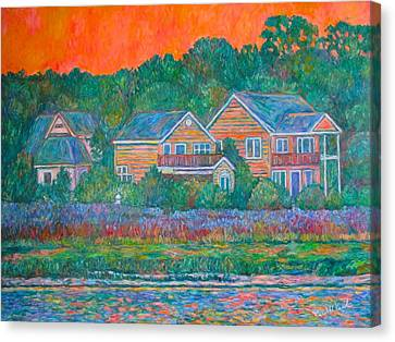 Across The Marsh At Pawleys Island       Canvas Print