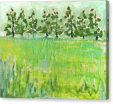 Across The Meadow Canvas Print by Jennifer Lommers