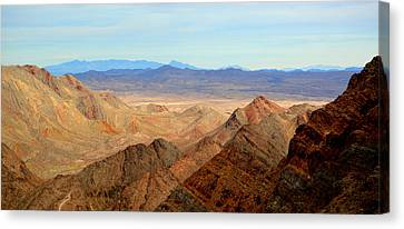 Across The Range Canvas Print by Nature Macabre Photography