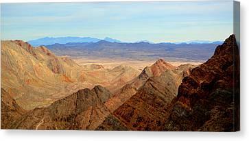 Across The Range Canvas Print