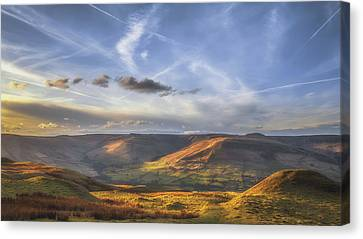 Across To Edale Canvas Print