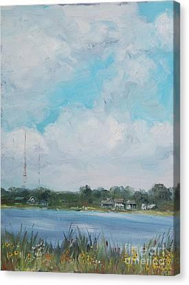 Across Winona Canvas Print by Mike Yazel