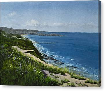 Acrylic Canvas Print by Joyce Nash