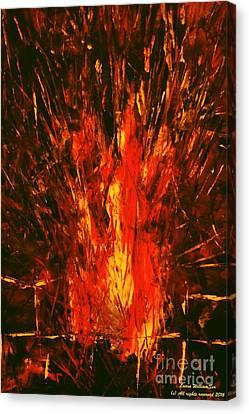 Acrylics Canvas Print