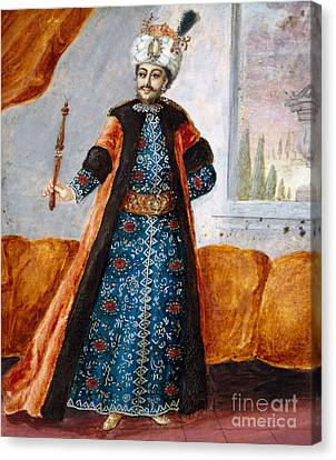 Actor In Oriental Costume In Role Of Suleiman Canvas Print