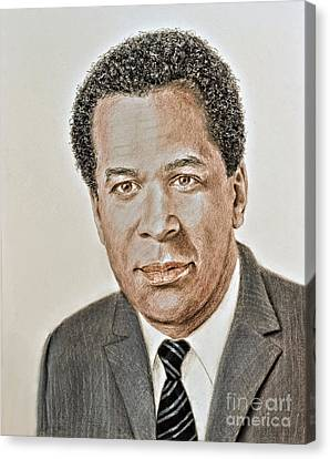 Actor, Songwriter, Singer And Pastor Clifton Davis Canvas Print