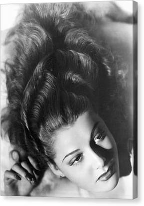 Actress Ann Sheridan Canvas Print by Underwood Archives