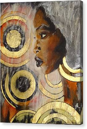 Adaeze The King's Daughter Canvas Print
