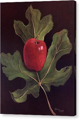 Adam And Eve Canvas Print by Randy Burns