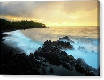 Adam And Eve Canvas Print by Ryan Manuel