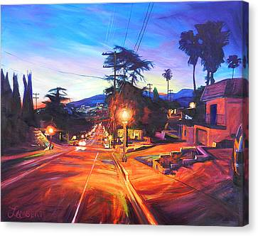 Twilight Passion Canvas Print