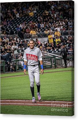 Negro Leagues Canvas Print - Addison Russell by David Bearden