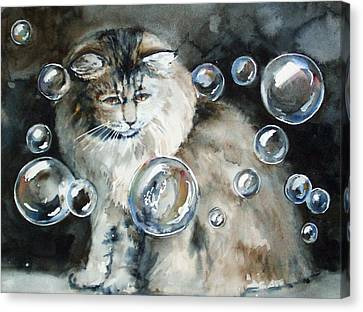 Adelaide And Bubbles Canvas Print
