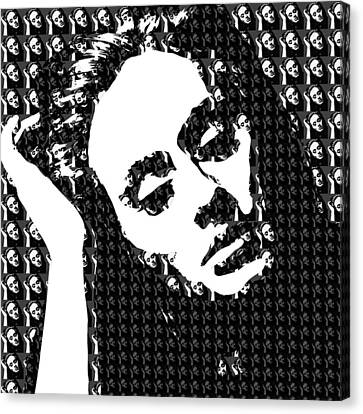 Adele 21 Album Cover Digital Art Canvas Print by Ryan Dean