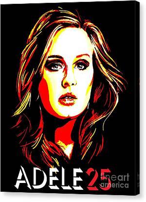 Adele 25-1 Canvas Print