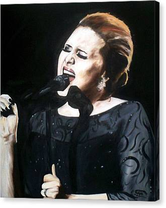Adele Canvas Print by Gary Boyle