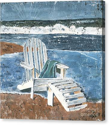 Adirondack Chair Canvas Print by Debbie DeWitt