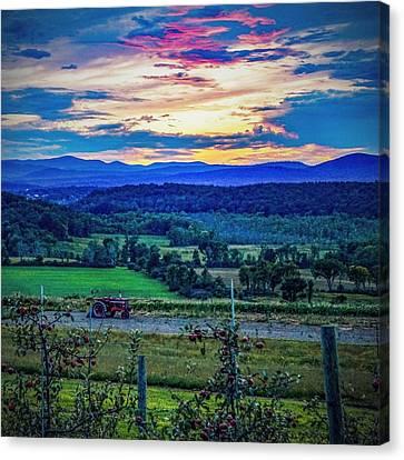 Adirondack Country Canvas Print