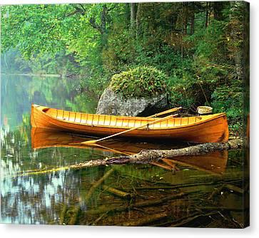 Adirondack Guideboat Canvas Print