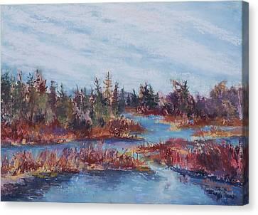 Adirondak Concerto Canvas Print by Alicia Drakiotes