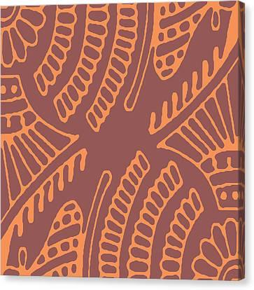 Pattern Canvas Print - Adjacents by Udai Singh