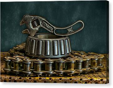 Adjustable Wrench Canvas Print by Paul Freidlund