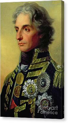 Lord Admiral Nelson Canvas Print - Admiral Horatio Nelson by Friedrich Heinrich Fuger