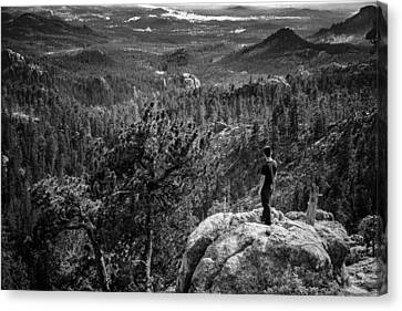 Canvas Print featuring the photograph Needles Point South Dakota by Jason Moynihan