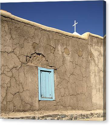 Adobe Church Taos Canvas Print