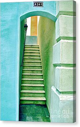 Adobe Series Canvas Print by Wendy Mogul