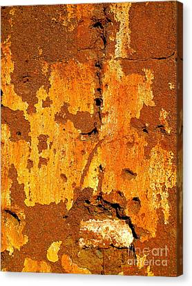 Adobe Wall 1 By Darian Day Canvas Print by Mexicolors Art Photography