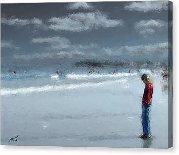 Adolescence Canvas Print by Eddie Durrett