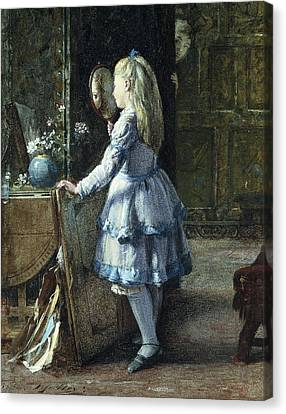 Adolescence Canvas Print by William Jabez Muckley