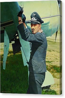Adolf Canvas Print