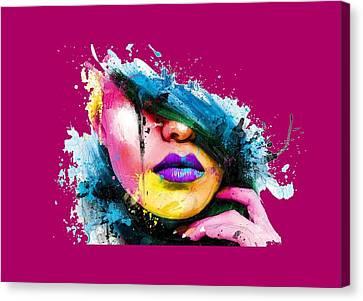Adonis T-shirt Canvas Print