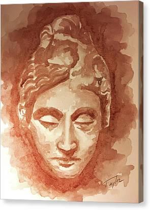 Adorant II Canvas Print