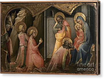 Adoration Of The Kings Canvas Print by Granger