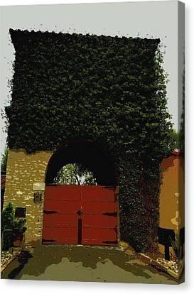 Adore The Door Canvas Print