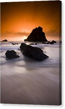 Adraga Beach Canvas Print by Andre Goncalves
