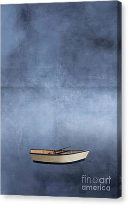 Adrift Among The Couds Canvas Print by Edward Fielding