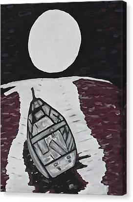 Adrift Canvas Print by Jonathon Hansen