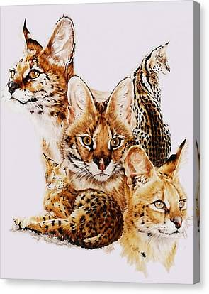 Adroit Canvas Print by Barbara Keith