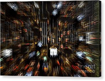 Electronic Component Canvas Print - Advancing Technology by Michael Eingle