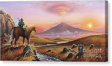 Elves Canvas Print - Adventure Awaits by Joe Mandrick