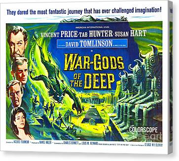 Adventure Movie Poster 1965 Canvas Print by Padre Art