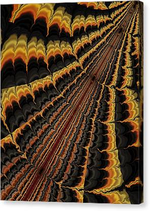 Adventures In Living Canvas Print by Vic Eberly