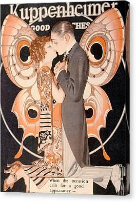Advertisement For Kuppenheimer Canvas Print by Everett