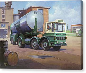 Aec Air Products Canvas Print by Mike  Jeffries