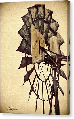 Aerator Canvas Print by LeAnne Thomas